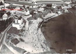 LE POULDU LA PLAGE ET LES HOTELS VUE AERIENNE 1954 - Le Pouldu