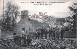 (62) Camiers - L'église (XVIIIe Siècle) - Sortie De Catéchisme - Excellent état - 2 Scans - France