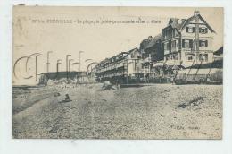Hautot-sur-Mer (76) : Les Châlets De Pourville Vue De La Plage En 1908 (animé)    PF. - Francia