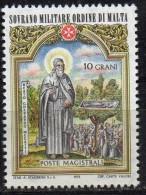 PIA - SMOM - 1973 : Natale - Beati E Santi Dell' Ordine -  (UN  91-93) - Malta (la Orden De)