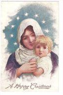 RAPHAEL TUCK & SON 1910s - MADONNA & JESUS - N.1351 - Tuck, Raphael