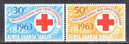 K.U.T. 142-3   *  RED  CROSS - Kenya, Uganda & Tanganyika