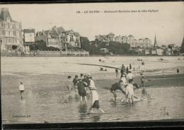 Cpa 139.   LE HAVRE.  Boulevard Maritime  Sous La Villa Dufayet,  Bien Animée Avec ENFANTS - Le Havre