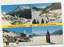ITALY - AK 209284 Grau Im Vinschagau 1490 M Curon In Val Venosta - Andere Steden