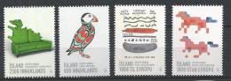 Islande 2013, Série N°1308/1311 Neuve  Design Islandais - 1944-... Republik