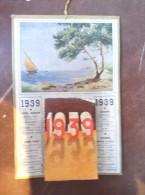 1939 Calendrier à Feuillets - Calendriers