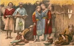 Bolivie - Cpa - Ethnique - Indiens De La Cordillère  -** Indios De Cordillera - Santa Cruz ** - Voir 2 Scans. - Bolivie