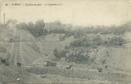 Lobbes - Carrière De Grès - A. Legrand Et Cie ( Voir Verso ) - Lobbes