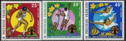 FN1224 Polynesia 1975 South Pacific Games Volleyball 3v MNH - Polinesia Francese