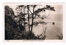 Cpa -   -- Photo ---- Angleterre -  PIER  FROM  THE  WOODS WESTON  SUPER  MARE - Weston-Super-Mare