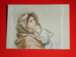Madonna Del RIPOSO Ferruzzi - Santino Cm.6 X 4,5 - Images Religieuses