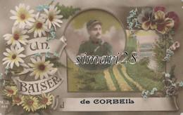 CORBEIL - UN BAISER DE CORBEIL - Corbeil Essonnes