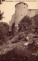 Mont St-Jean  - Ancien Château Féodal  - Vue Prise Des Remparts  - A. Duciel  Saulieu - Autres Communes