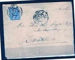 Kleinrond ZWARTSLUIS As Receiver 1898 (q53) - Periode 1891-1948 (Wilhelmina)