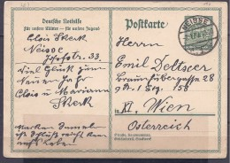 Germany1932: Michel P212 Used From Neisse To Vienna - Allemagne