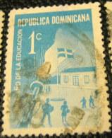 Dominican Republic 1969 Education 1c - Used - Dominican Republic