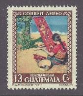 Guatemala 1950 - Tourism, Tourisme, India Tejiendo, Traditional Jobs, Drapery, Culture MNH - Guatemala