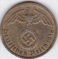ALLEMAGNE . 10 REICHSPFENNIG 1938 B (HANNOVER)