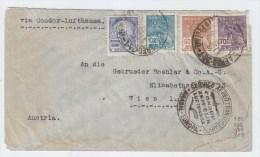 Brazil/Austria CONDOR LUFHANSA AIRMAIL COVER 1935 - Brazil