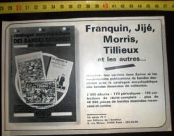 PUB ANNONCE ALBUM ENCYCLO DE LA BD HERGE TINTIN AU PAYS DES SOVIETS - Vieux Papiers