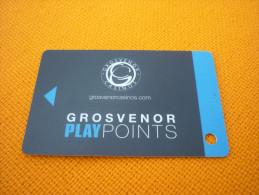 United Kingdom U.K. - Grosvenor Casino magnetic slot player�s card
