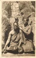 NATIVE WOMEN DRESSING THEIR HAIR - South Africa