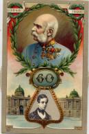 Autriche  -  Carte-système  - Une Molette Fait Défiler Les Portraits Famille Régnante  (1848 - 1908 ) . Splendide ; - Oostenrijk