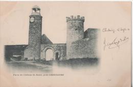 PORTE DU CHATEAU DE ROZEL PRES CHERBOURG - Cherbourg