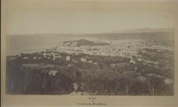 NICE - Vue Prise Du Mont-Boron - Photogr. Années 1860-70 - Gd Format 28 X 14 Cm - Old (before 1900)