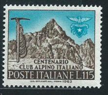 Italia 1963 Nuovo** - C.A.I. - 1961-70:  Nuovi