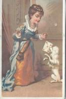 Le Plumeau Américain/ En Plumes De Dinde Sauvage/Toutou Apporte La Lettre à Sa Patronne/Dupuy/ Vers 1880-85    IM771 - Au Bon Marché
