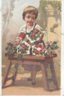 Le Plumeau Américain/ En Plumes De Dinde Sauvage/La Marchande De Fleurs/Dupuy/ Vers 1880-85    IM770 - Au Bon Marché