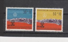 Yvert 353 / 354 ** Neuf Sans Charnière MNH - Liechtenstein