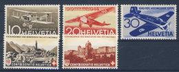 Schweiz Michel No. 420 - 421 / 435 - 437 ** postfrisch