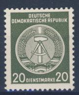 DDR Dienst Gruppe A Michel No. 28 ** postfrisch