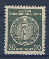 DDR Dienst Gruppe A Michel No. 32 y II X I ** postfrisch