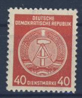 DDR Dienst Gruppe A Michel No. 33 X I ** postfrisch