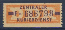 DDR Dienst Gruppe B Michel No. 22 F ** postfrisch