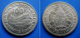 INDONESIA 100 Rupiah 1978 - FORESTRY FOR PROSPERITY