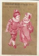 Chromo Ibled / à Fond Doré/Prés Du Château/ Baster & Vieillemard/ /Mondicourt/Paris /Vers 1880-85 IM777 - Ibled