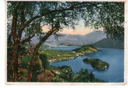 Lago Di Como - Isola Comacina Con Veduta Della Tremozzina - Como