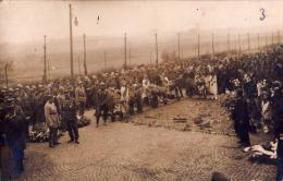 Carte Photo ROI ALBERT Manifestation Funérailles ? Pendant Ou Après La Guerre 14/18 Lieu à Identifer - Inaugurations