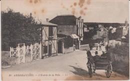 R :  Calvados :  ARROMANCHES  : L  Entrée De  La  Ville - Arromanches