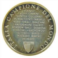 ITALIA CAMPIONE DEL MONDO SPAGNA 1982 ARGENTO PROOF MEZZA OZ - Germania