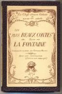 Les Plus Beaux CONTES De Jean De LA FONTAINE. Chefs-d´oeuvre Galants Du XVIIIe Siècle. 50 Contes. - Books, Magazines, Comics
