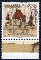 Timbre Oblitéré Used Stamp ALLEMAGNE 0,75euro DEUTSCHLAND Kirchenburg Von Birthälm Rumänien  Weltkulturerbe Der UNESCO - [7] République Fédérale