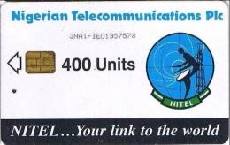 Nigeria, NGA-18c, 400 Units, Earth Station, 2 Scans.