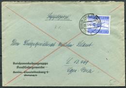 1943 Germany Berlin Charlottenburg Luftpost Kriegs Brief - Covers & Documents