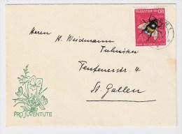 """Schweiz, PJ, 1954,  """" Briefli """" , S376 - Pro Juventute"""