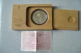 Pièce De 2000 Pesetas émise En 1990 Pour  Les Jeux Olympiques De 1992 - Espagne